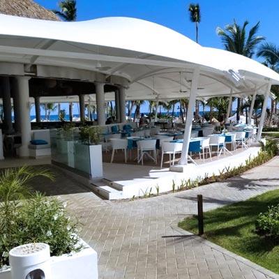 Hotel Bahia Principe Luxury Ambar. Punta Cana, República Dominicana - CUBRE Membrane architecture