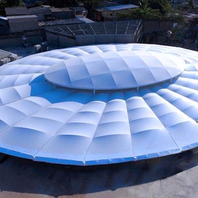 C.C Comercial Plaza Mundo Apopa, El Salvador - CUBRE Membrane Architecture