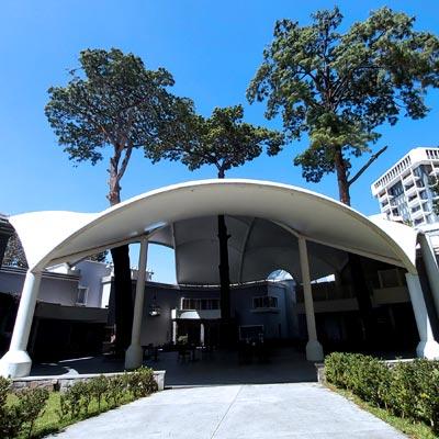Centro de Convenciones Casa Ariana - CUBRE Membrane architecture