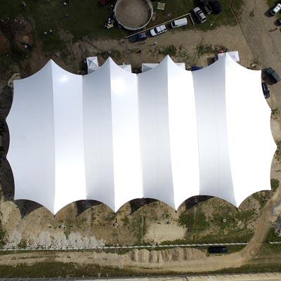 Centro Ecuestre de Alto Rendimiento El Ensueño - CUBRE Membrane architecture