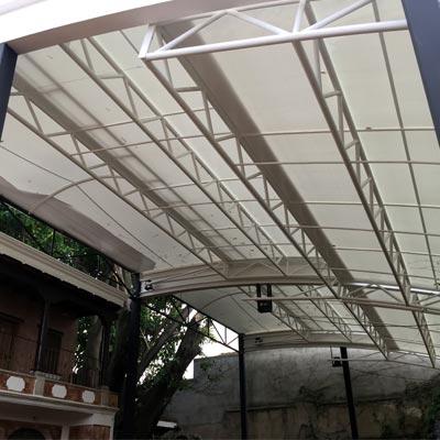 Hotel Casa Blanca, Antigua Guatemala - CUBRE Membrane Architecture