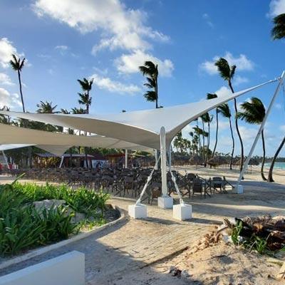 Hotel Gran Bávaro Princess. Punta Cana, República Dominicana - CUBRE Membrane architecture