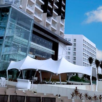 Hotel Royalton Chic Suites Cancún - CUBRE Membrane architecture