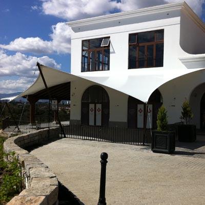 Prime Restaurant, Paseo Cayalá - CUBRE Membrane architecture