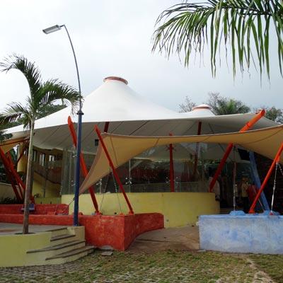 Restaurante Camaron Pelao - CUBRE Membrane architecture
