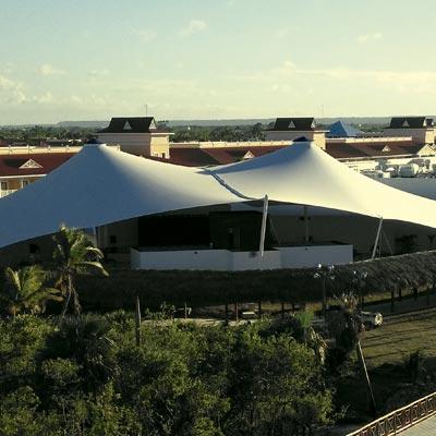 Royalton Bávaro Resort & Spa. República Dominicana - CUBRE Membrane architecture