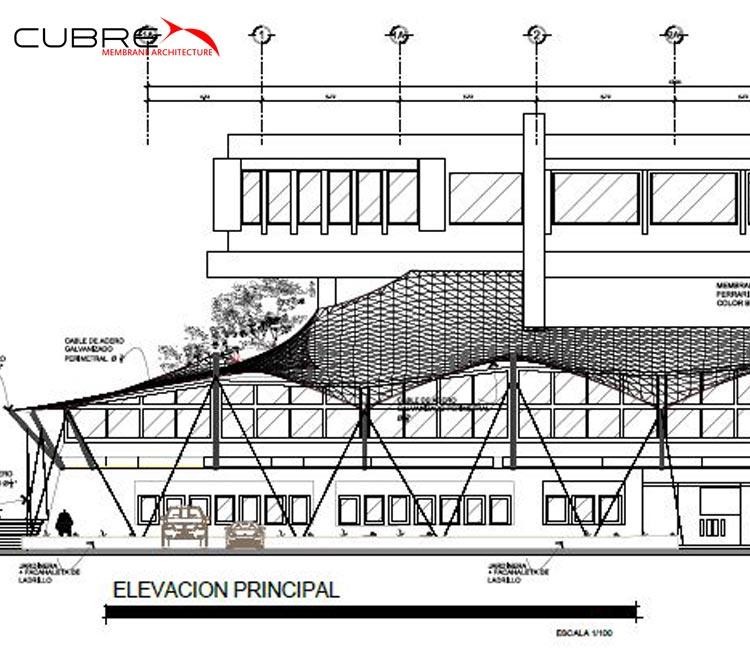 Consultoría - CUBRE - Membrane Architecture