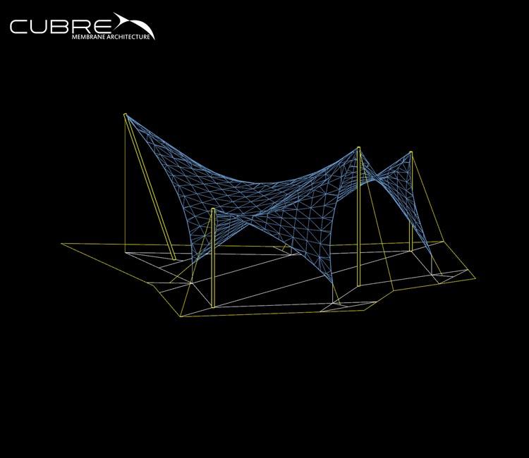 Diseño e Ingeniería - CUBRE - Membrane Architecture
