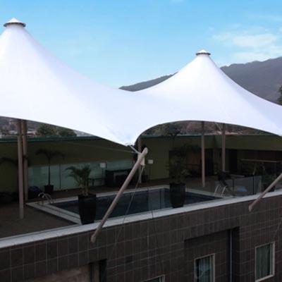 Studio Hotel. Costa Rica - CUBRE Membrane architecture