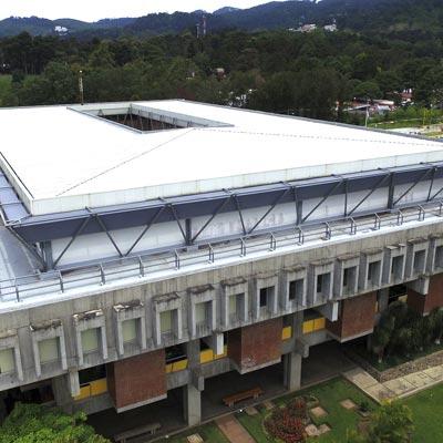 Universidad Rafael Landívar URL, Campus Central - CUBRE Membrane architecture